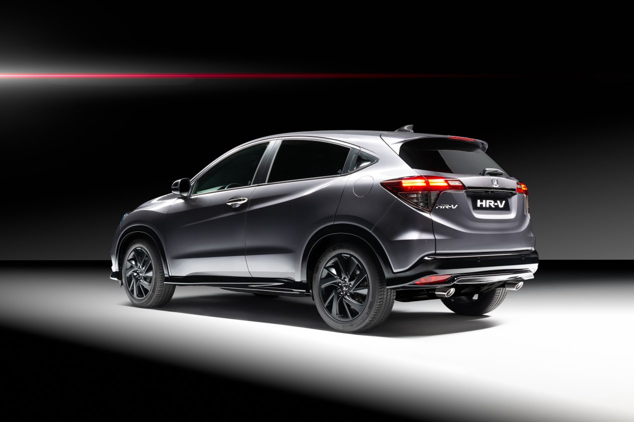 honda hr v sport el suv estrena nueva versi n de gasolina m s deportiva. Black Bedroom Furniture Sets. Home Design Ideas