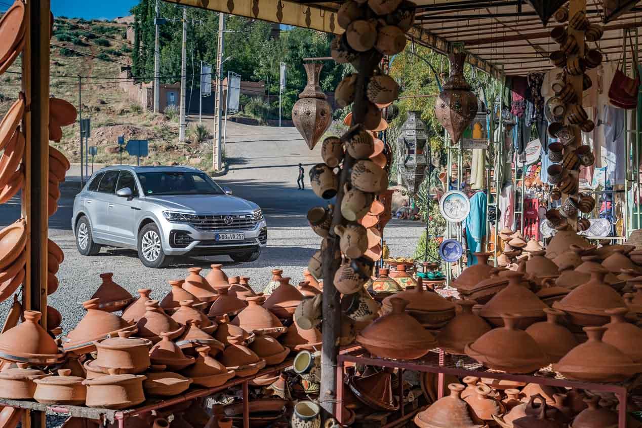 VW Touareg, así va en condiciones extremas