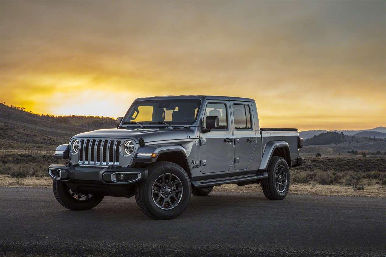 Jeep Gladiator: el nuevo pick-up presentado en el Salón de Los Ángeles