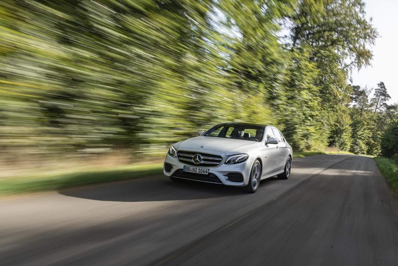 Mercedes Clase E 300 de híbrido enchufable, en imágenes