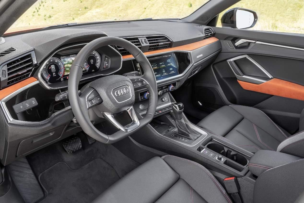 Audi Q4 2019: nuevas imágenes del nuevo SUV coupé