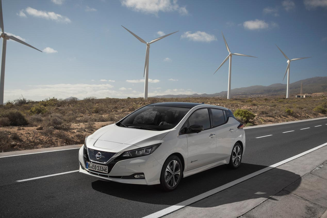 Nissan Leaf 2019: el coche eléctrico, a prueba