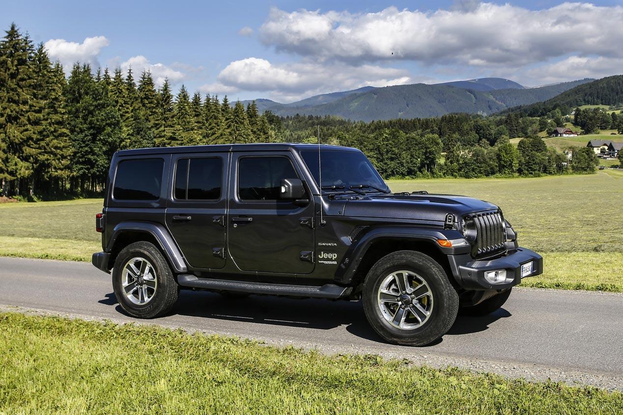 El Jeep Wrangler, de renovación