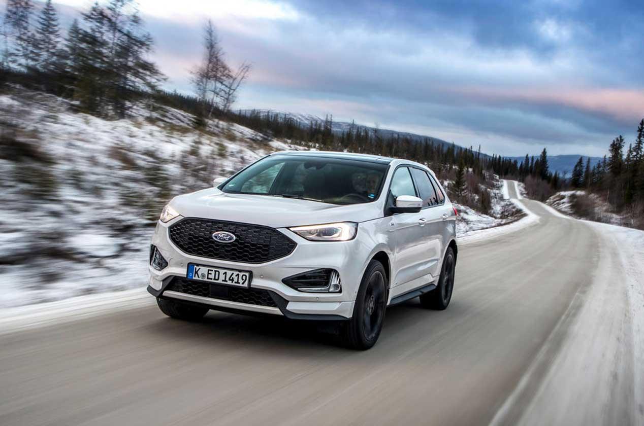 Ford Edge 2019, el SUV más grande de la marca se renueva