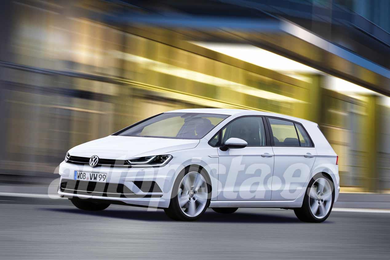 Volkswagen Golf 8: así será en 2019 el nuevo compacto
