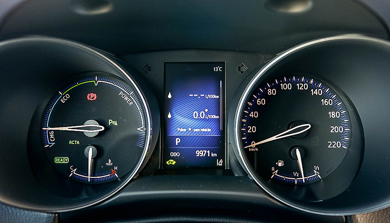 El Toyota C-HR Hybrid, a prueba