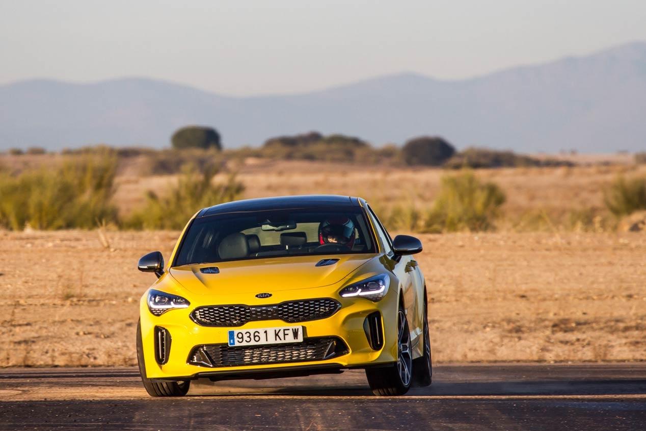 Todos los retos del Kia Stinger GT en 2018