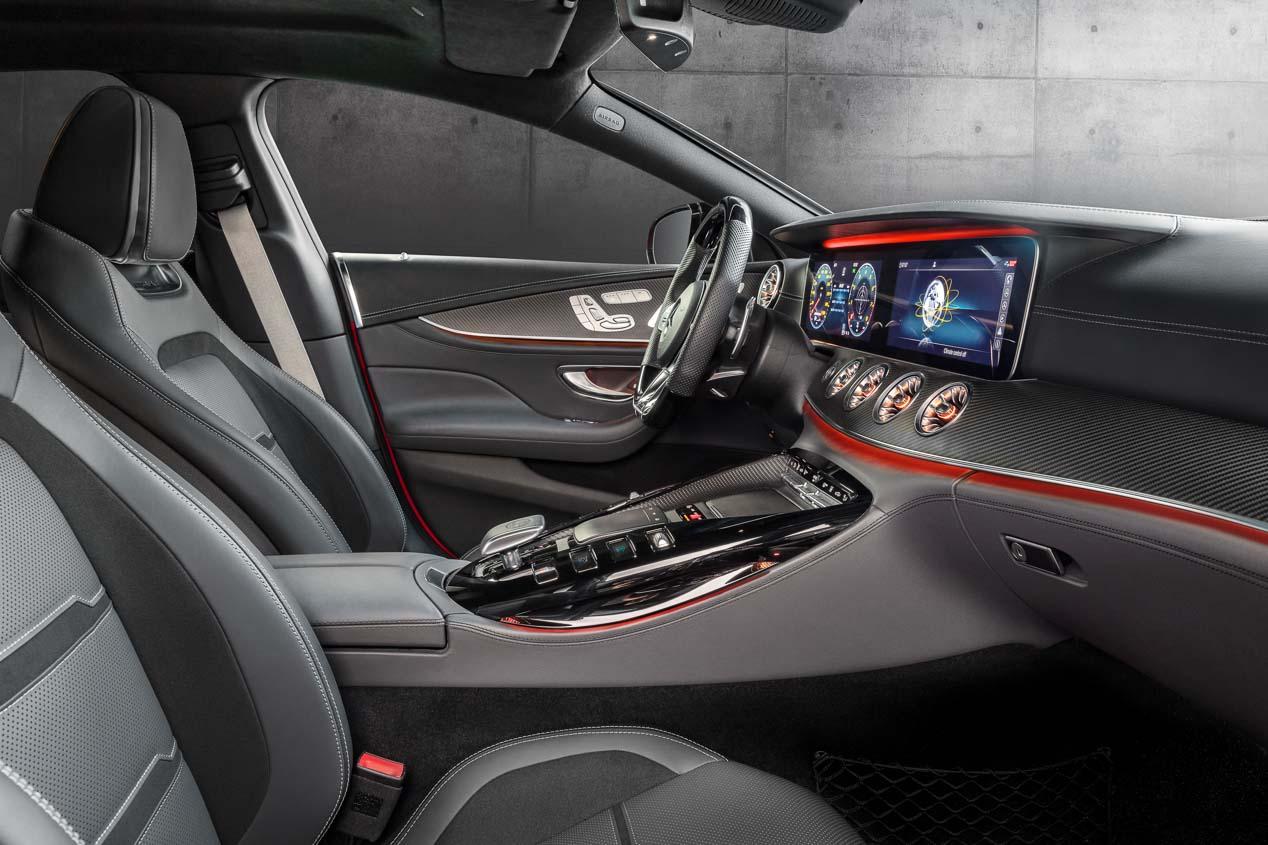 Mercedes AMG GT Coupé 4 puertas: llega ya el primer 4 puertas propio de AMG