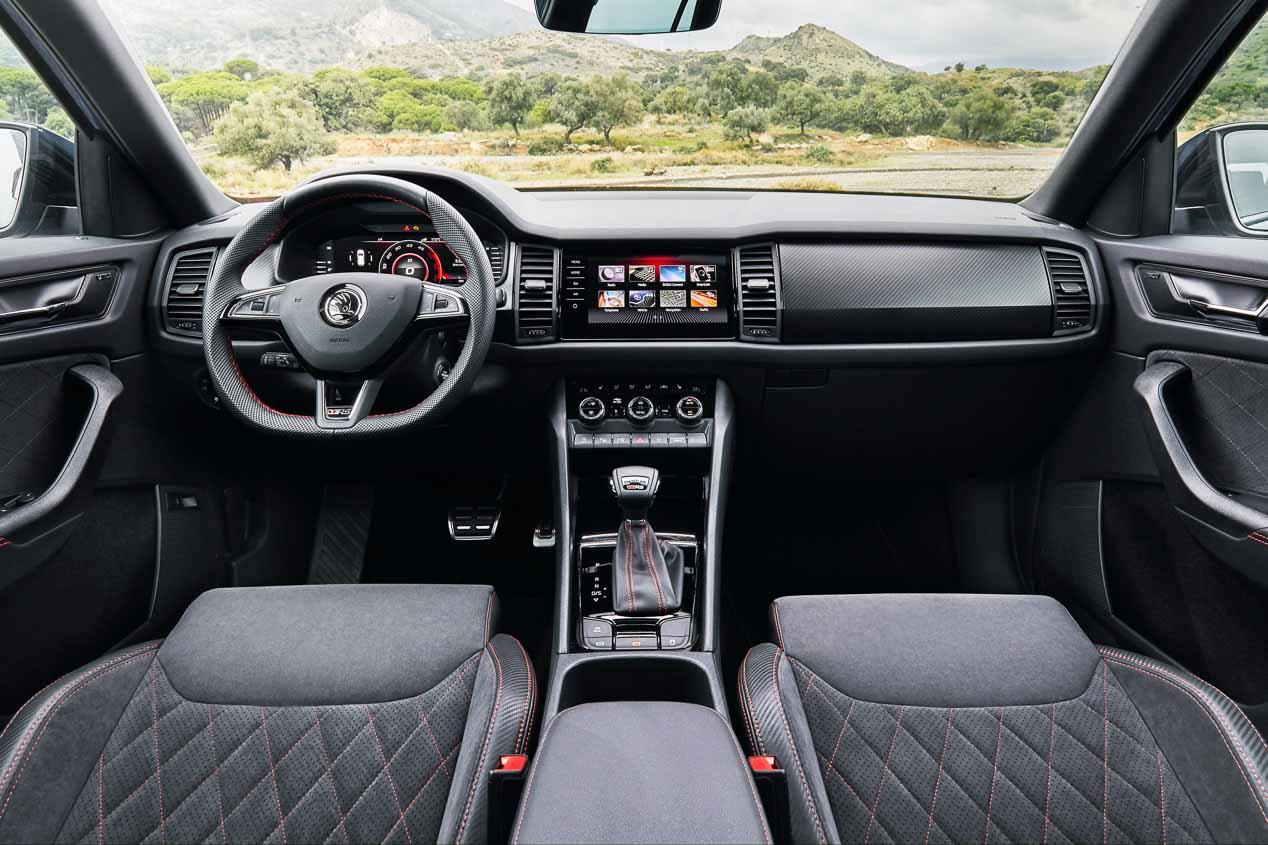 Skoda Kodiaq RS: a prueba el SUV de siete plazas más rápido en Nurburgring