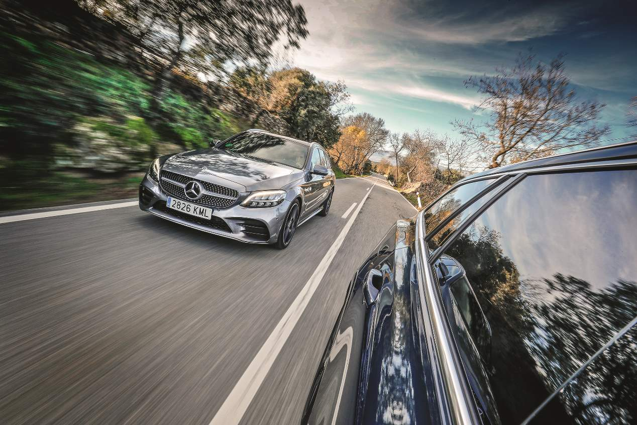 comparativa-mercedes-clase-c-familiar-vs-volvo-v60