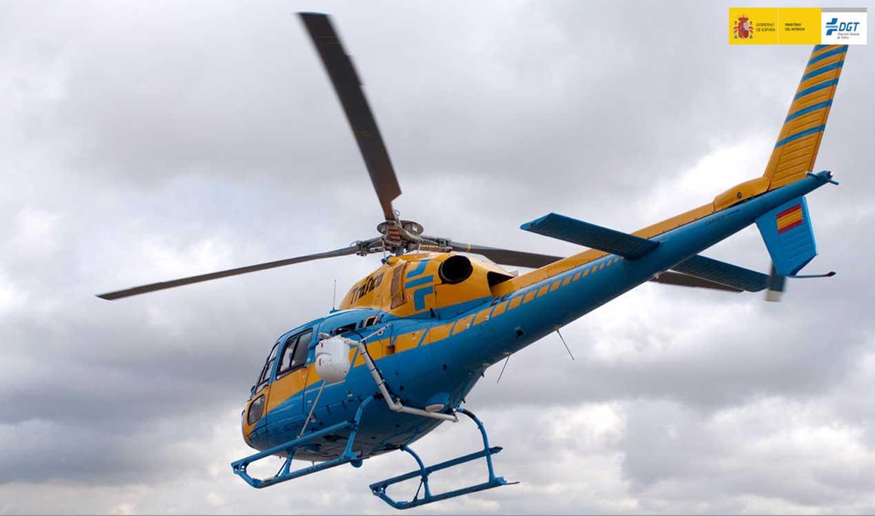 Dispositivo de Navidad: la DGT controlará nuestras carreteras con 12 helicópteros y 11 drones