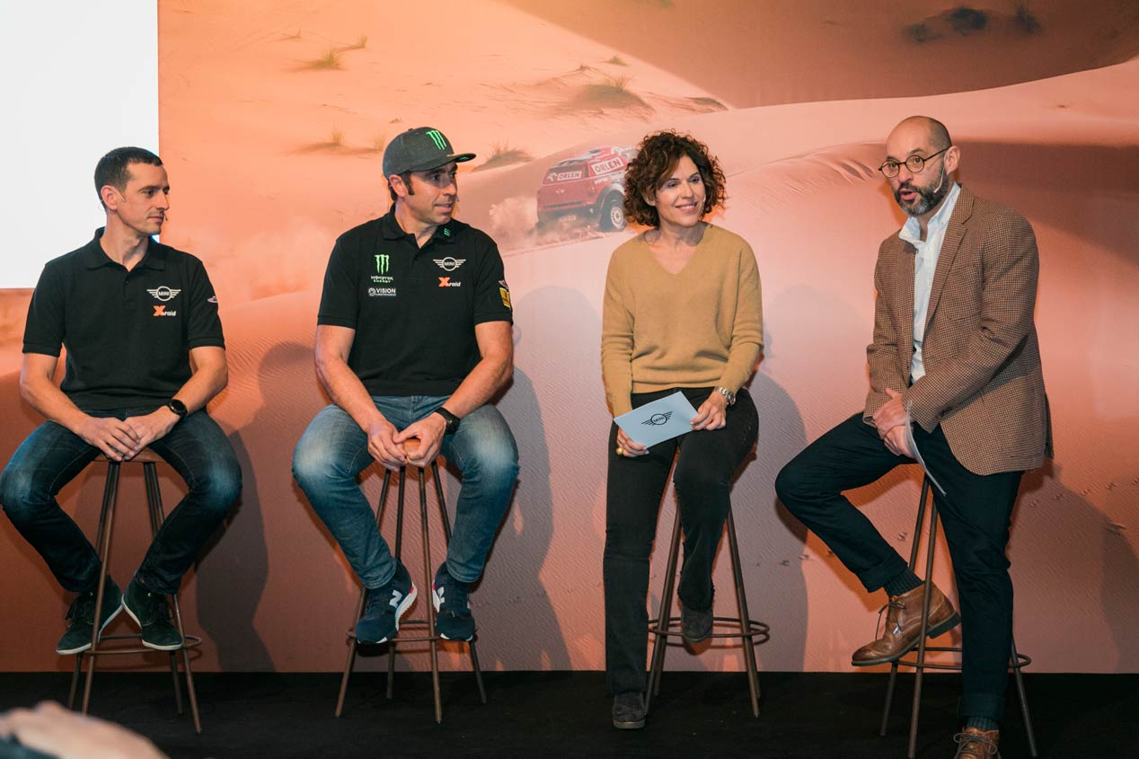 Carlos Sainz y Nani Roma, con Mini para el Dakar 2019
