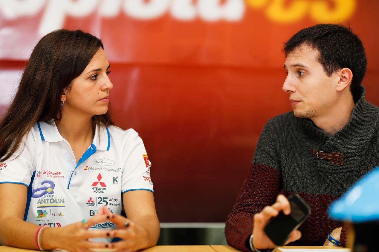 Cristina Gutiérrez, ante su tercer Rally Dakar