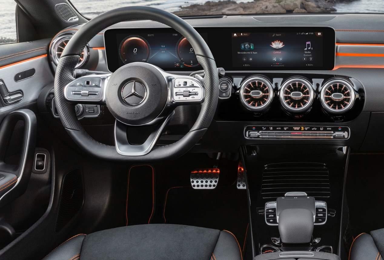Mercedes Cla Coupe 2019 Todos Los Datos Y Fotos Oficiales