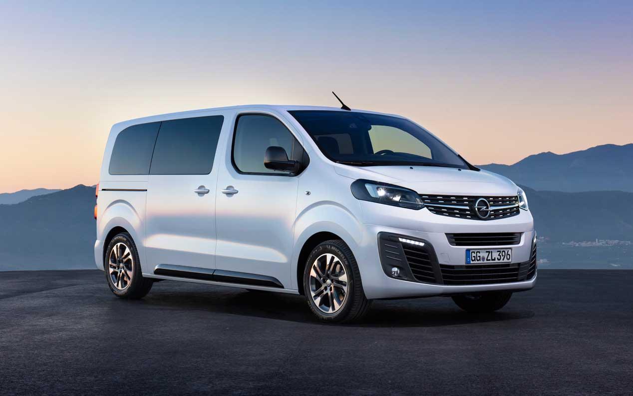 Opel Zafira Life, hasta 9 pasajeros en tres tamaños