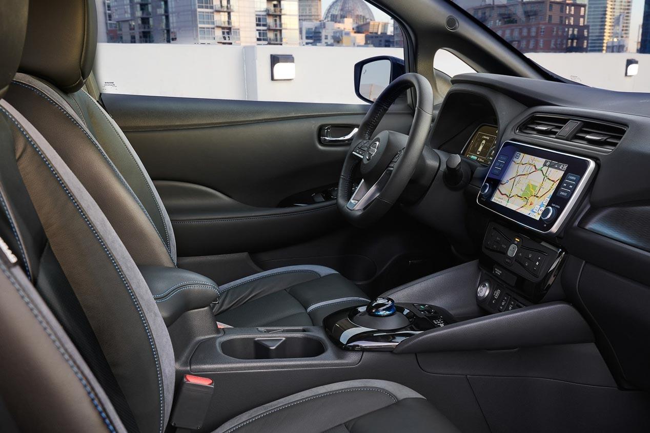 Mayor potencia y autonomía para el Nissan Leaf de segunda generación