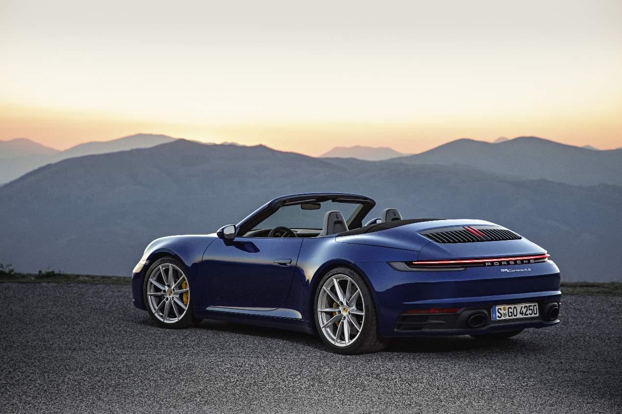 El Porsche 911 Cabriolet 2019, en imágenes