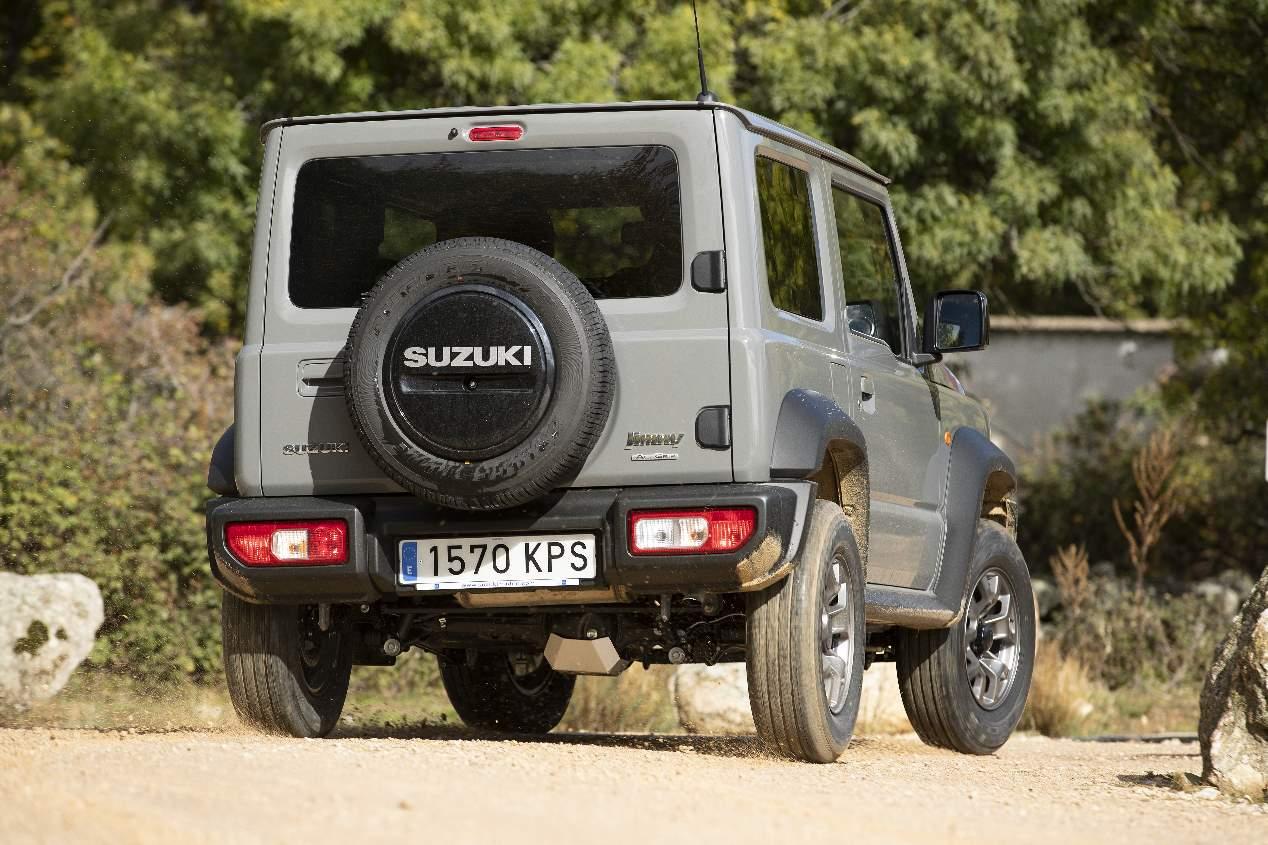 A prueba el Suzuki Jimny 1.5 Mode 3 102 CV