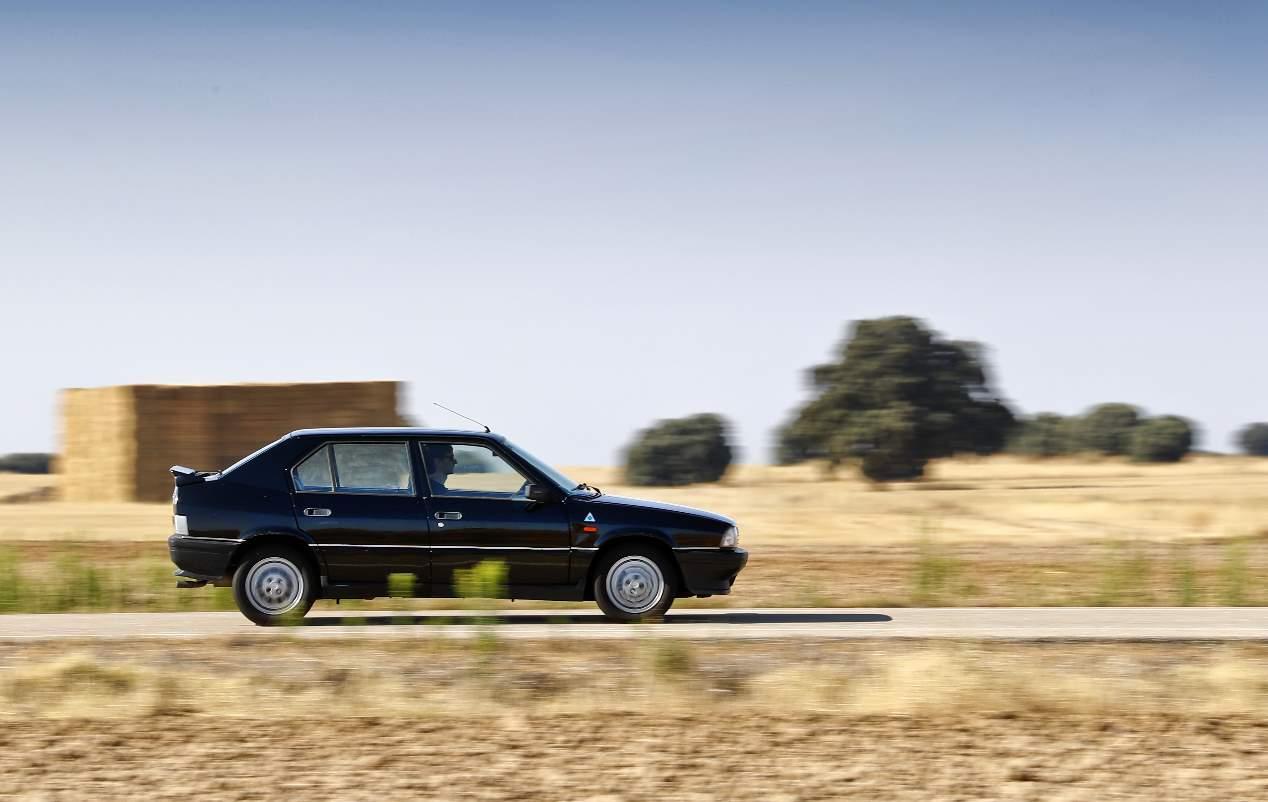 Alfa 33 1.7 IE, Opel Kadett GSi, Peugeot 309 GTi y VW Golf GTi Mk2
