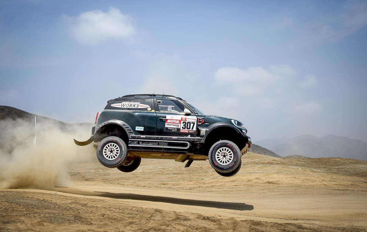Rally Dakar 2019: mitad de la prueba