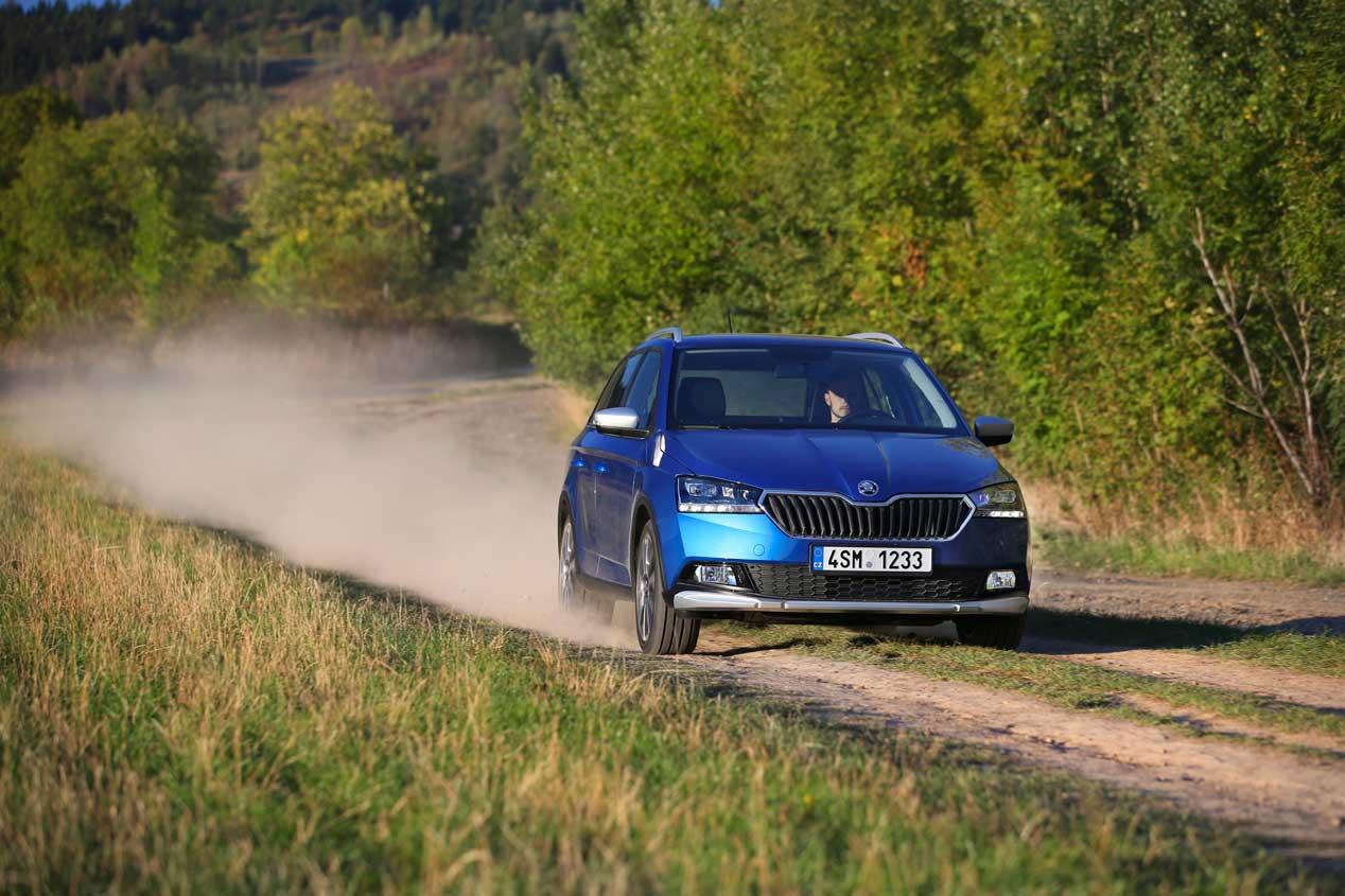 Nueva carrocería SUV para el Skoda Fabia bajo el nombre Scout
