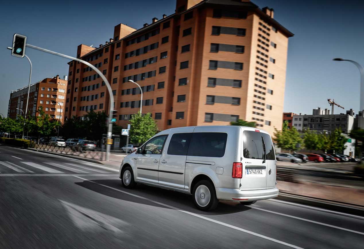 VW Caddy Maxi TGI, a prueba la versión de gas
