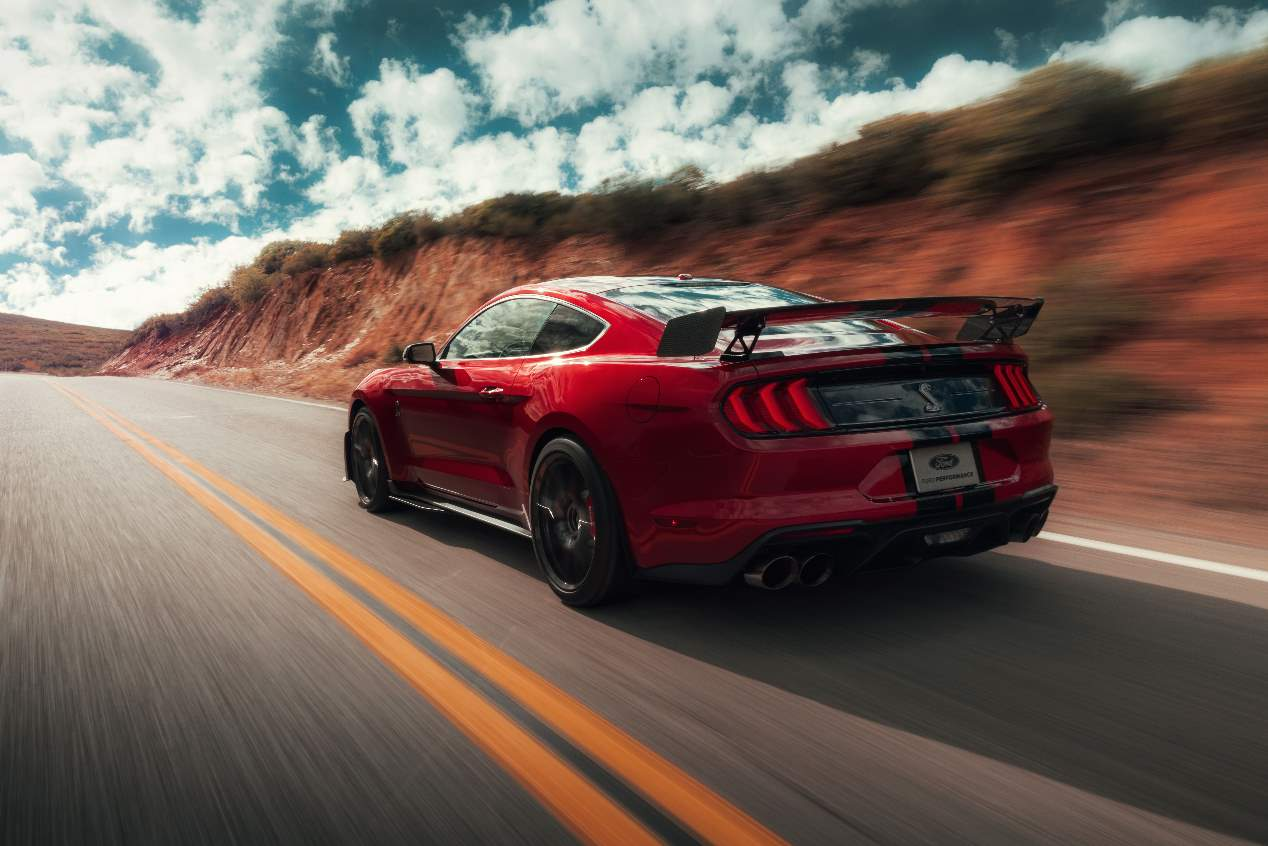 Ford Mustang Shelby GT500 2020, sus mejores imágenes