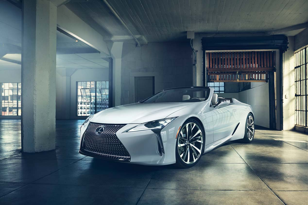 Lexus LC Convertible Concept: descapotable exclusivo