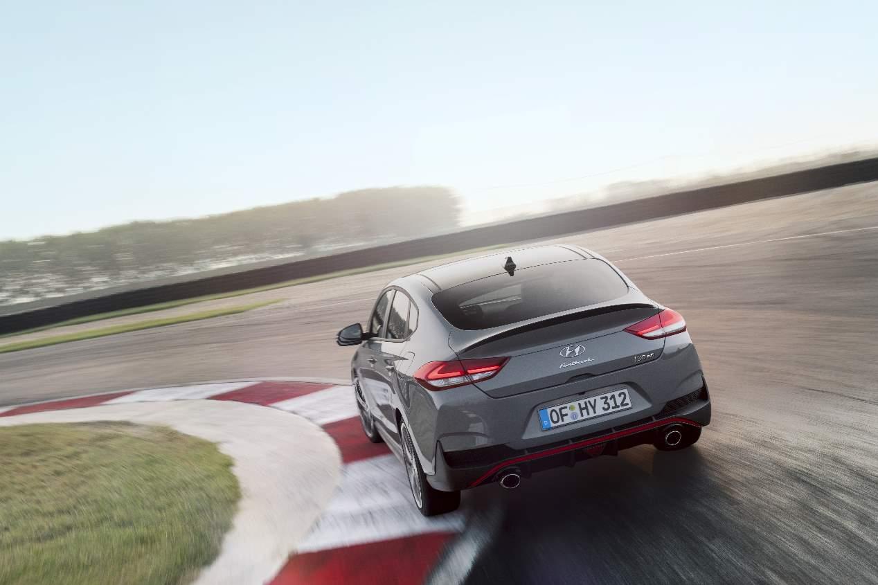 Nuestra prueba a bordo del Hyundai i30 Fastback N, en imágenes