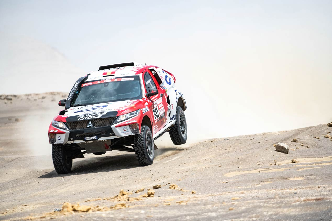 Las mejores imágenes del Rally Dakar 2019