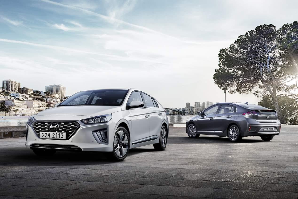 El Hyundai Ioniq 2019, en imágenes