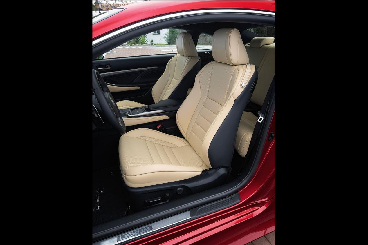 Lexus RC 300h 2019: un coupé híbrido de 223 CV