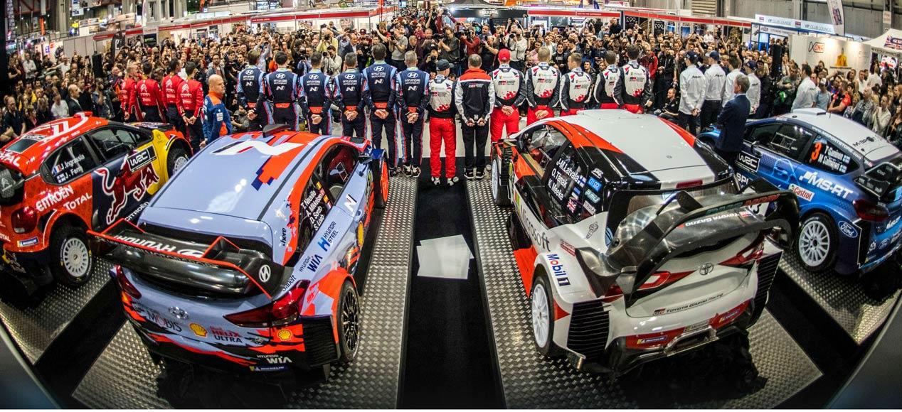 El Mundial de Rallyes 2019 arranca ya en Monte-Carlo