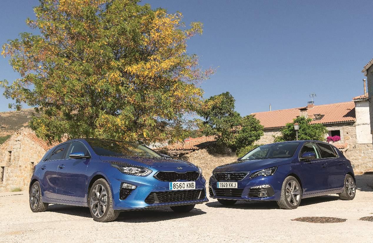 Comparativa Diesel: Kia Ceed 1.6 CRDi vs Peugeot 308 1.5 BlueHDI