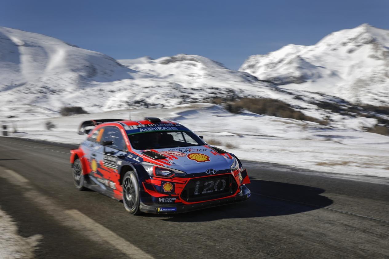 Las mejores fotos del Rallye de Monte-Carlo 2019