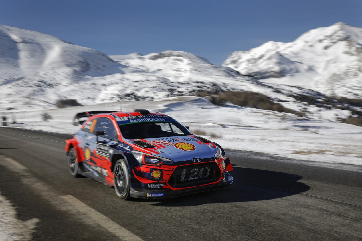rallye de monte carlo 2019 ogier se lleva el primer duelo del a o rally. Black Bedroom Furniture Sets. Home Design Ideas