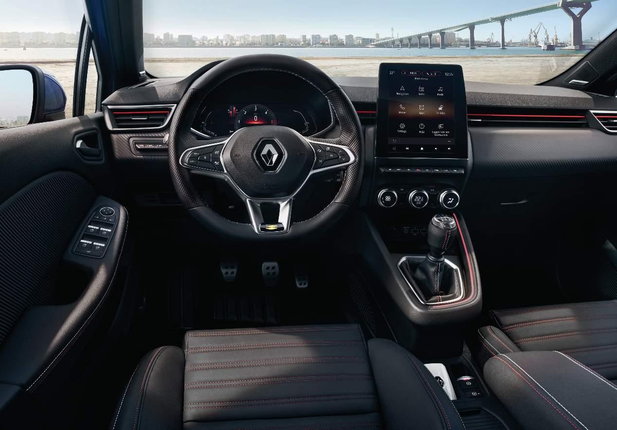 El interior del nuevo Renault Clio 2019, en imágenes