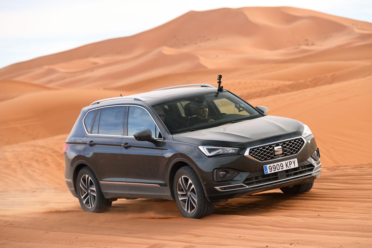Probamos el Seat Tarraco 4Drive por las dunas de Marruecos
