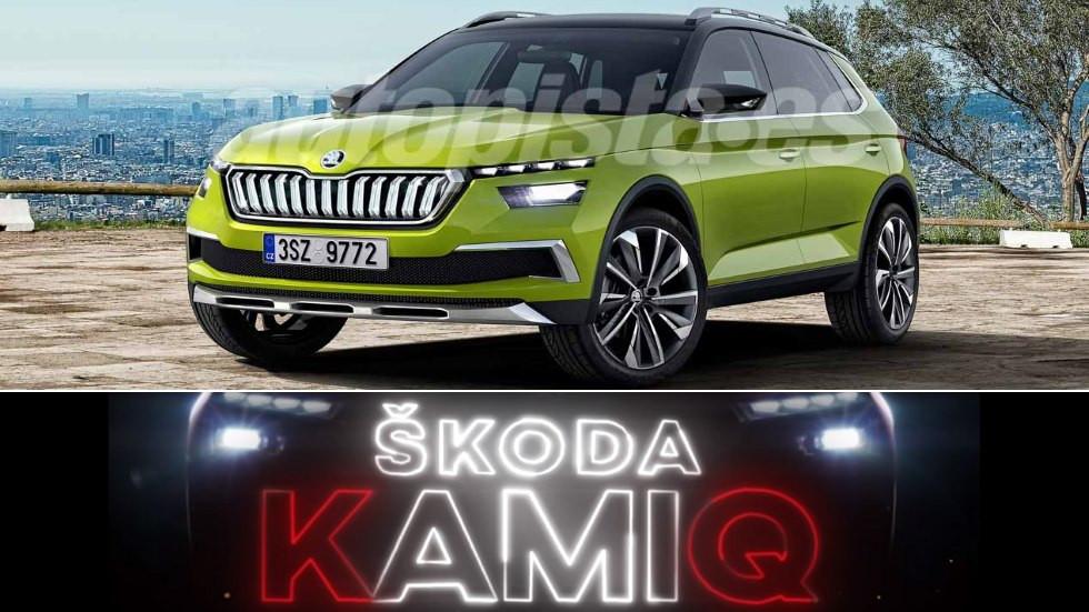 Skoda Kamiq 2019: nuevas imágenes del interior y del exterior
