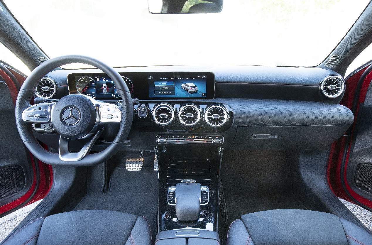 Nuestra prueba del Mercedes A 200, en imágenes
