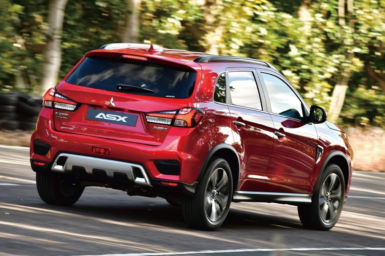 Mitsubishi ASX 2020: las mejores fotos del renovado SUV