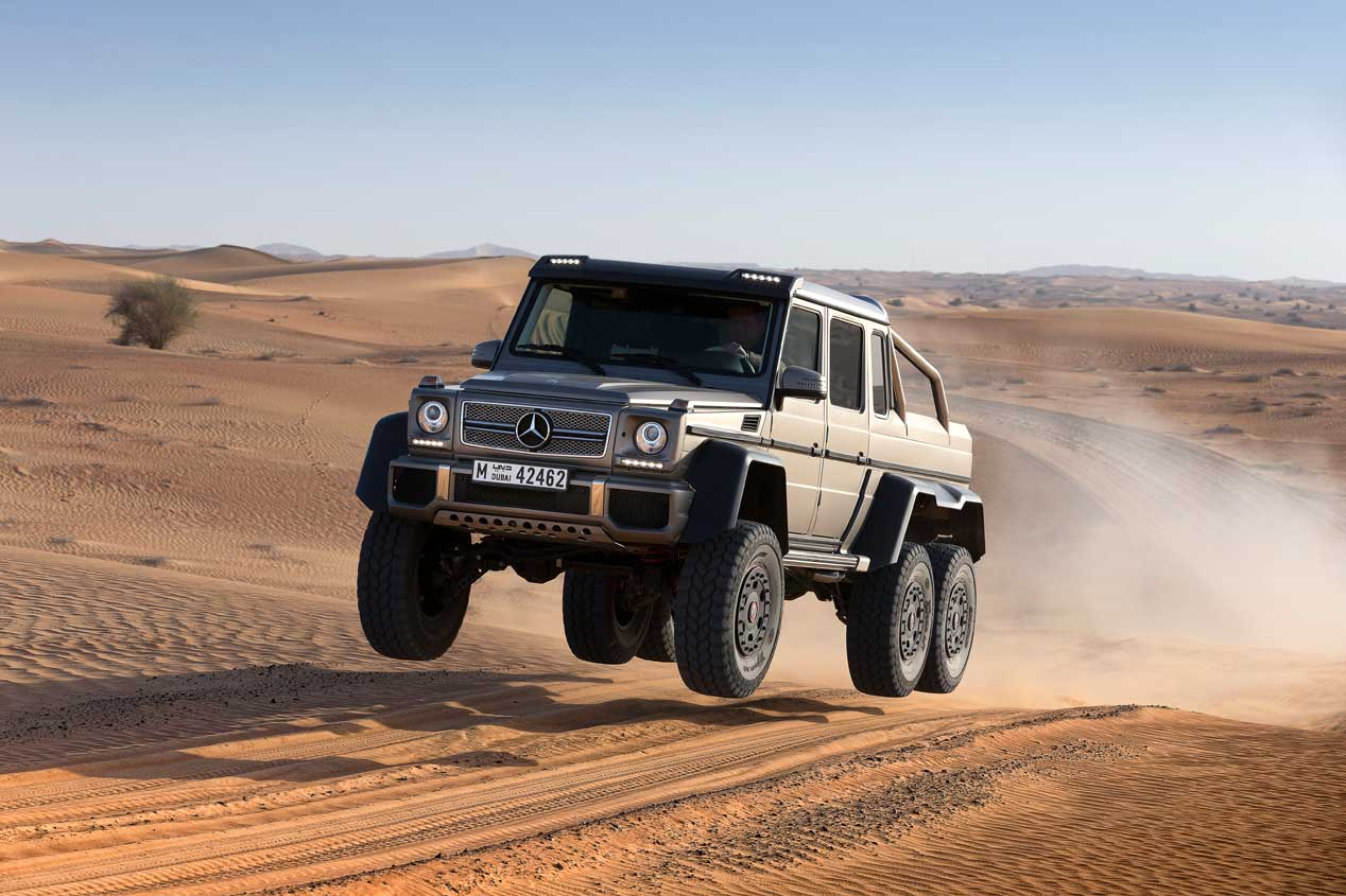 ¡Felicidades! El Mercedes Clase G cumple 40 años