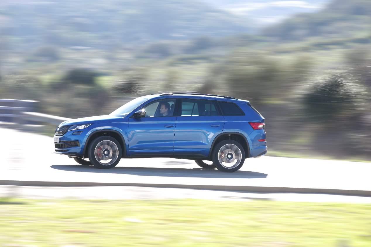 Nuestra prueba del Skoda Kodiaq RS, en fotos