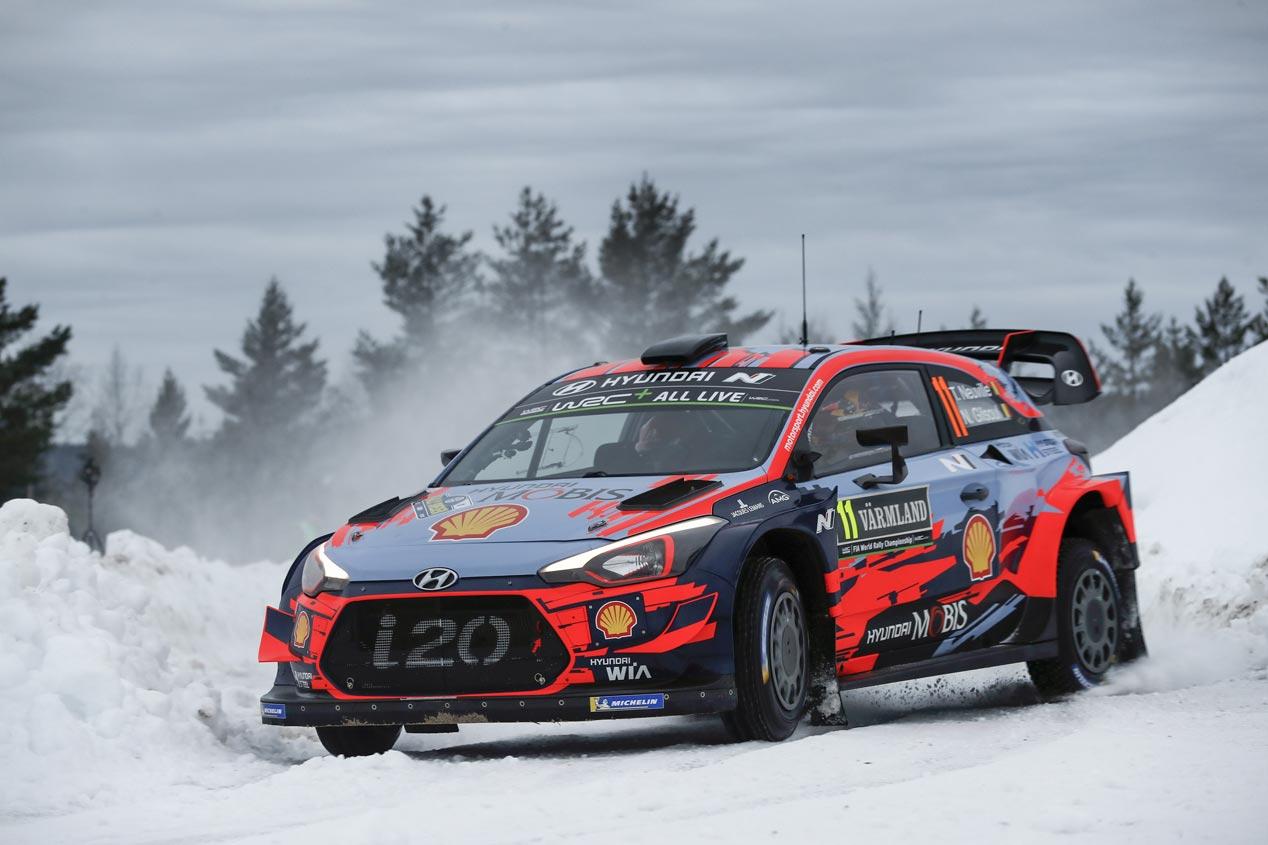 Las mejores fotos del Rallye de Suecia 2019
