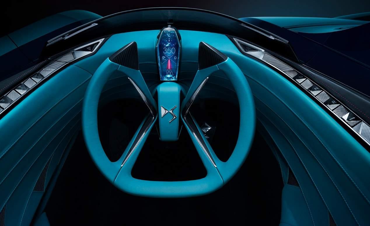 DS-X Concept: el deportivo asimétrico del futuro, en imágenes