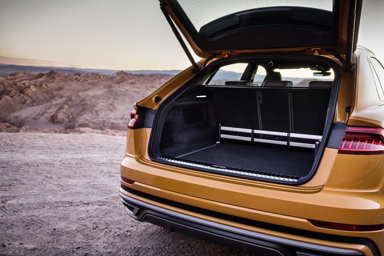 Audi Q8: nuevas versiones 55 TFSI y 45 TDI