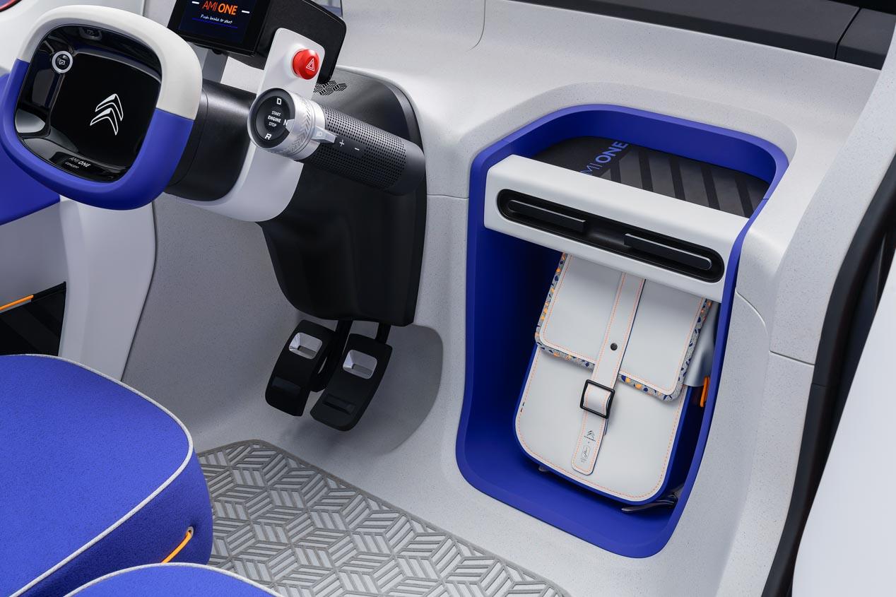 Citroën Ami One Concept, eléctrico, urbano y sin carné