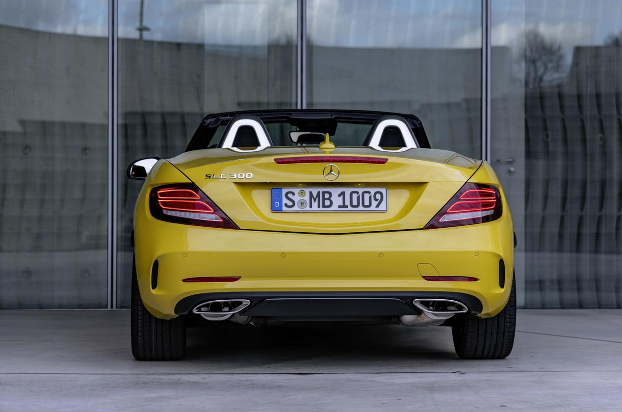 Mercedes SLC Final Edition: adiós al descapotable deportivo