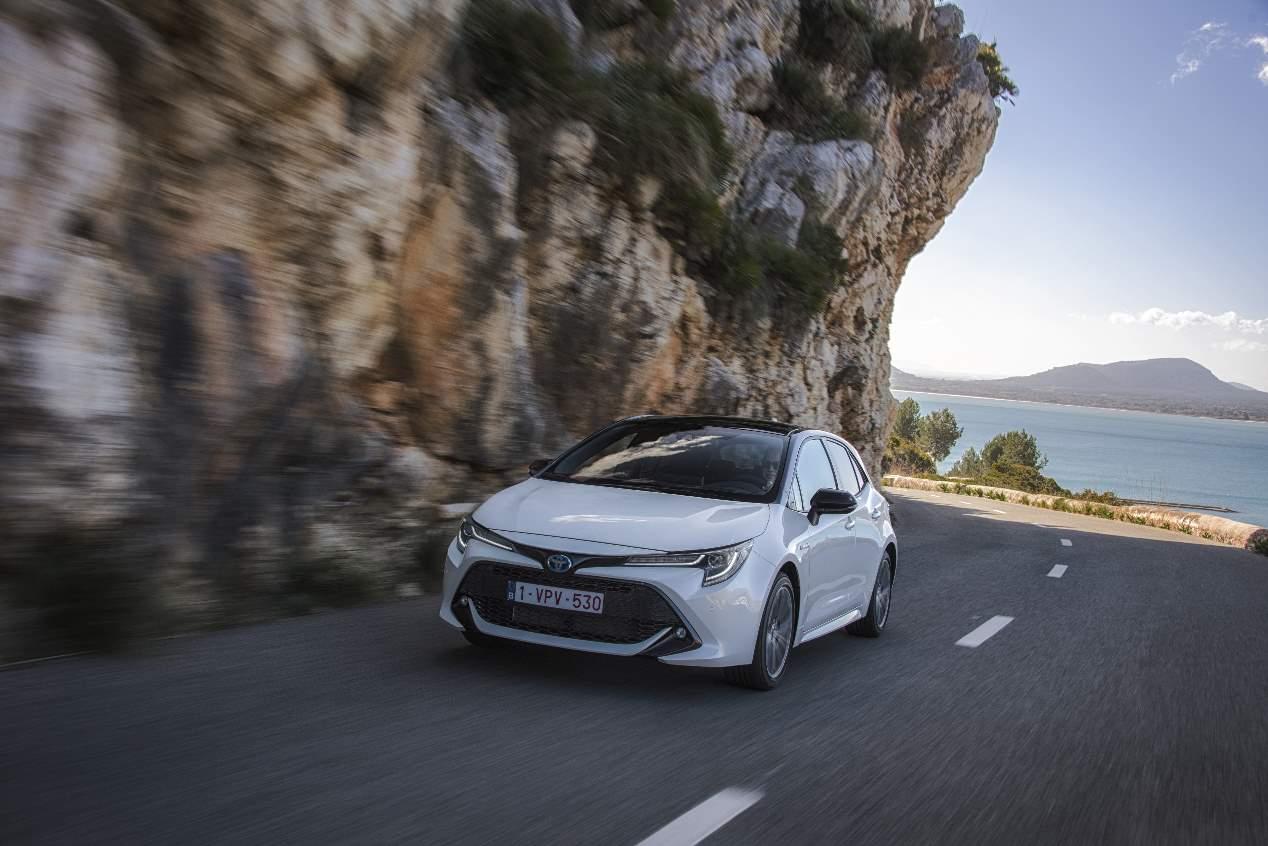 A prueba el nuevo Toyota Corolla Hybrid 2019, las mejores fotos