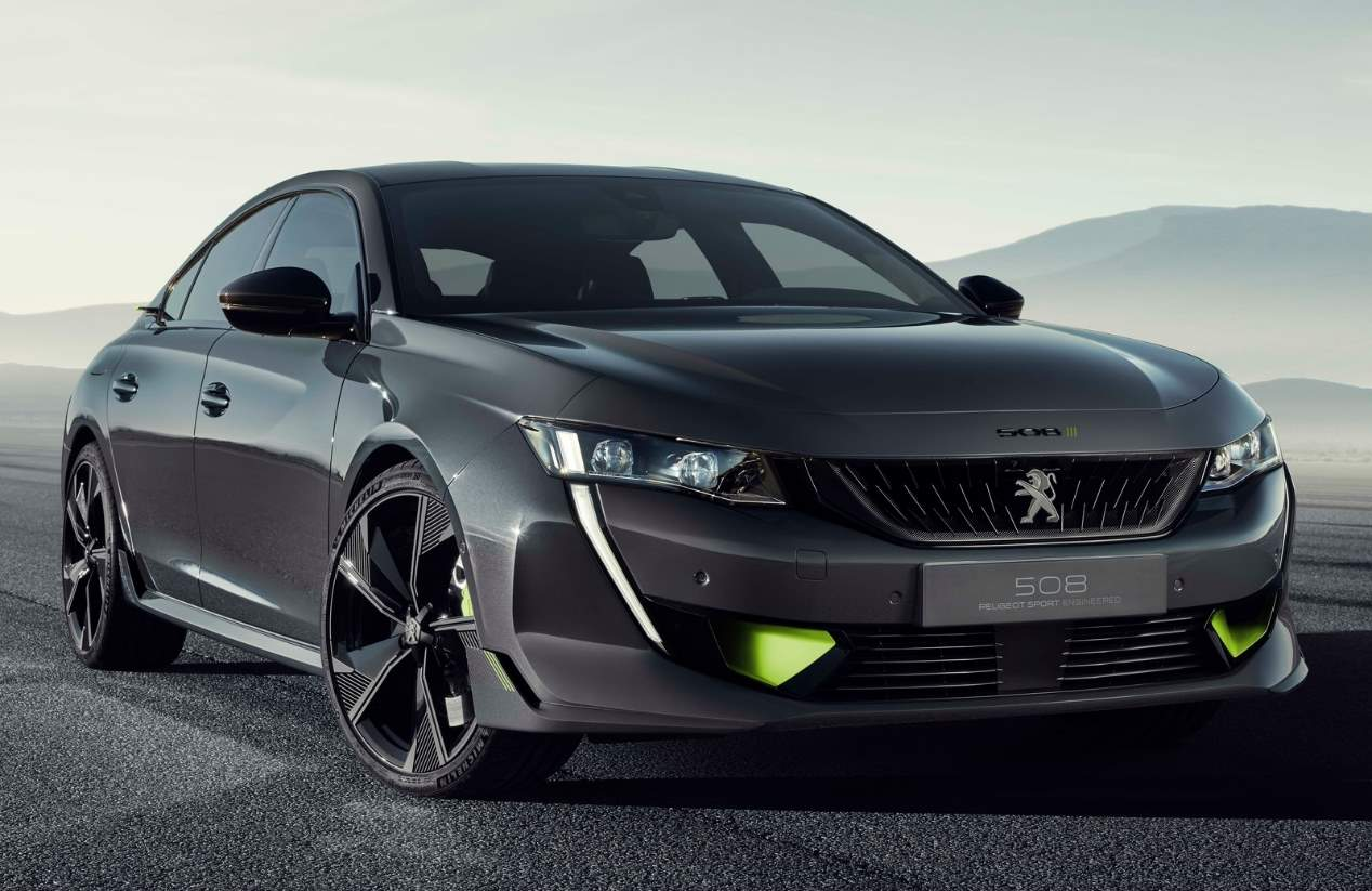 El Peugeot 508 Sport Engineered Concept, en fotos